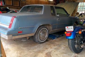 1988 Cutlass garaged