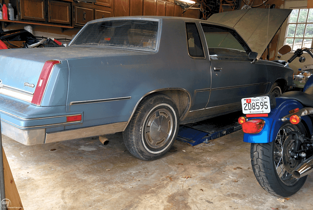 Cutlass Engine Removal | Three Pedals
