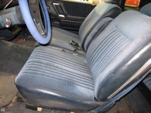 1988 Cutlass interior