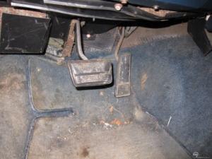 1988 Cutlass pedals