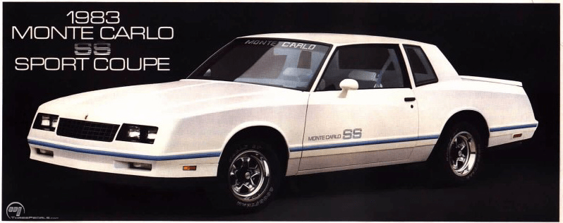 1983 Chevy Monte Carlo SS