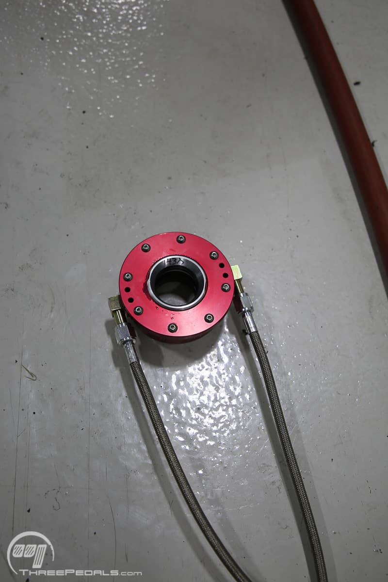 Hydraulic Throwout Bearing Three Pedals