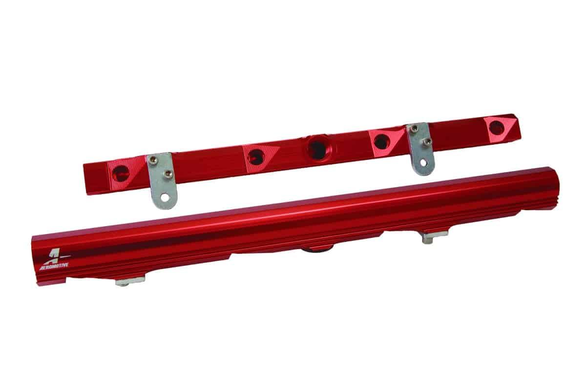 Aeromotive Fuel System Gm Ls2 Billet Fuel Rails Three Pedals
