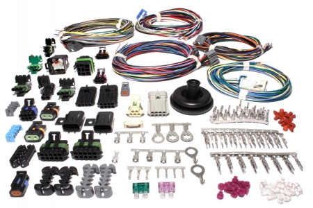 FAST XFI Main Harness designed for integration with Weatherpack style Fast Wiring Harness on