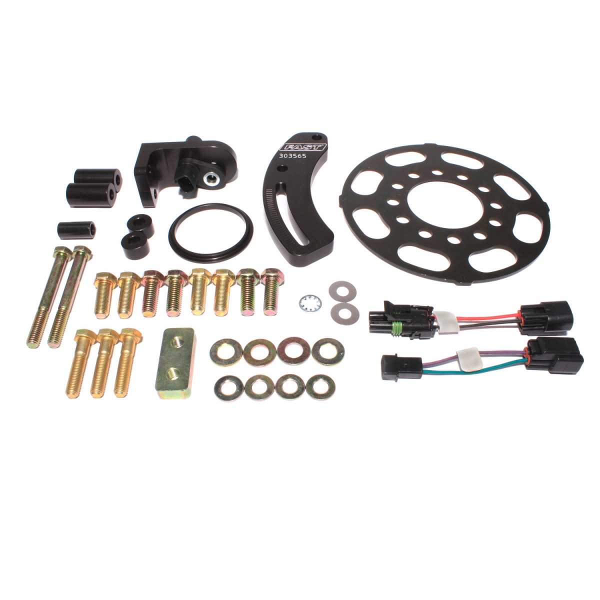 FAST Crank Trigger Kit For Small Block Ford With 6.562