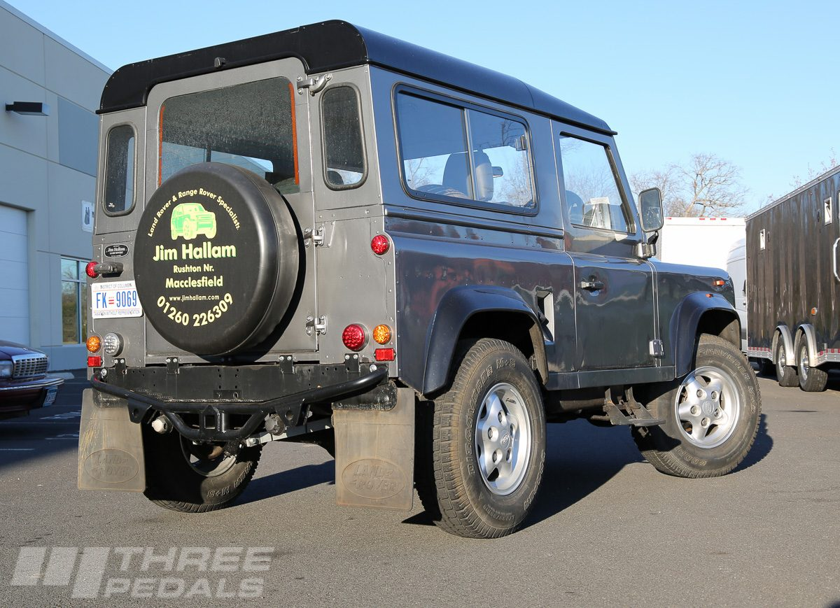 LS-Powered Land Rover D90 | Three Pedals