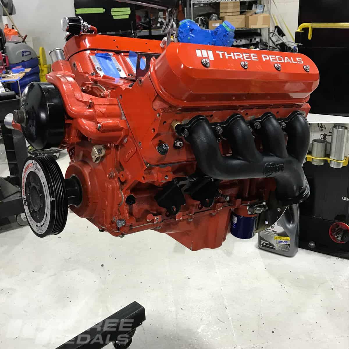 HOOKER BLACKHEART ENGINE MOUNT BRACKETS; 12643HKR